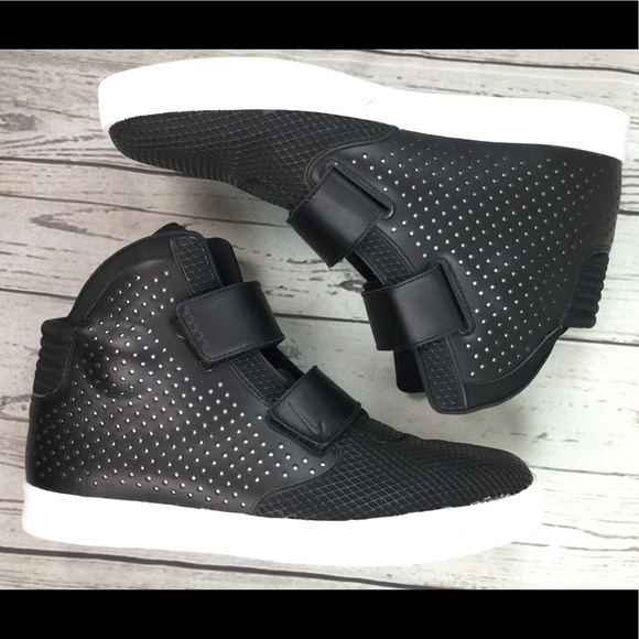 sports shoes 7ff80 16058 Nike Flystepper 2K3 Black White High Top 14. M 5bb3461104e33da27fb64061